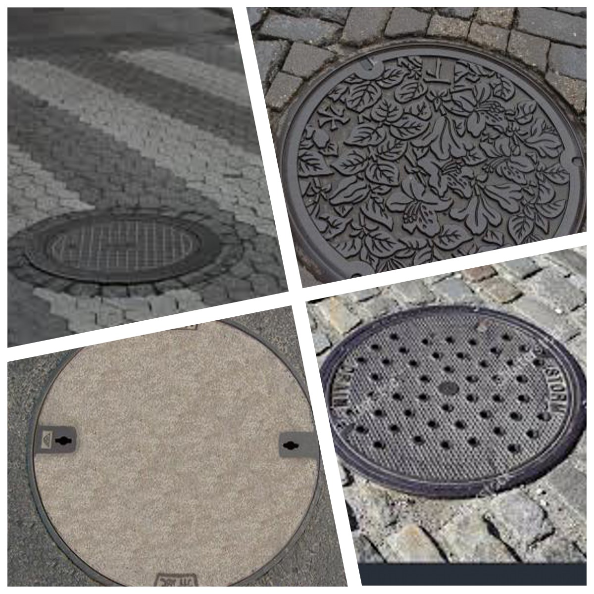 Durable manhole cover  with factory  price for roads