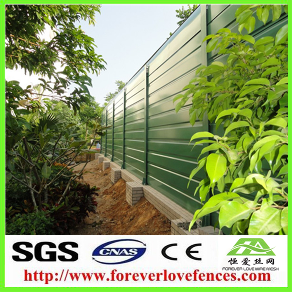 Acoustic fencing export to Singapore barrier noise protection wall