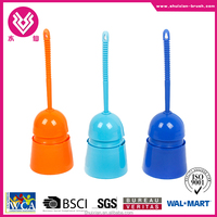 Free sample provided! BSCI cheap plastic toilet brushes supplier
