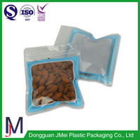 Print biodegradable food packaging bag plastic zipper bag