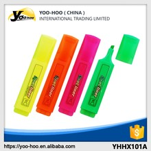 Classic Cheap Colorful Highlighter Marker pen for promotion