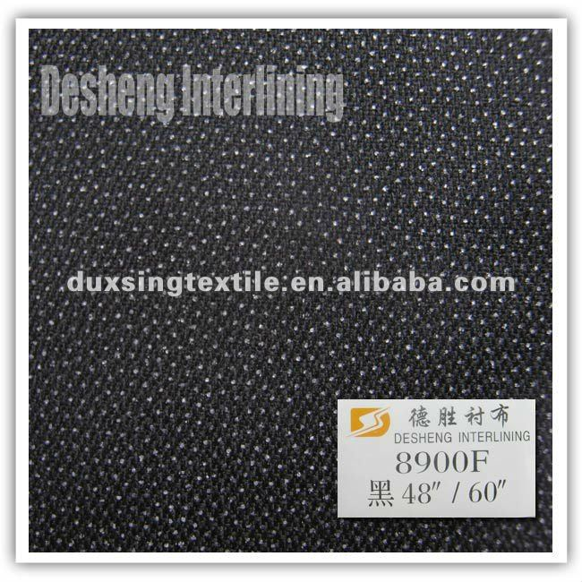 double dot elastic woven interlining