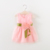 cute bow flower mini baby dress princess sleeveless baby girl dresses party