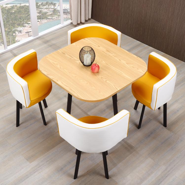 Walmart diseño simple restaurante utiliza marco de metal mesa de ...