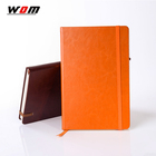 Free Sample Business Meeting Genuine Leather Notebook