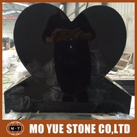 China factory absolute black granite monument