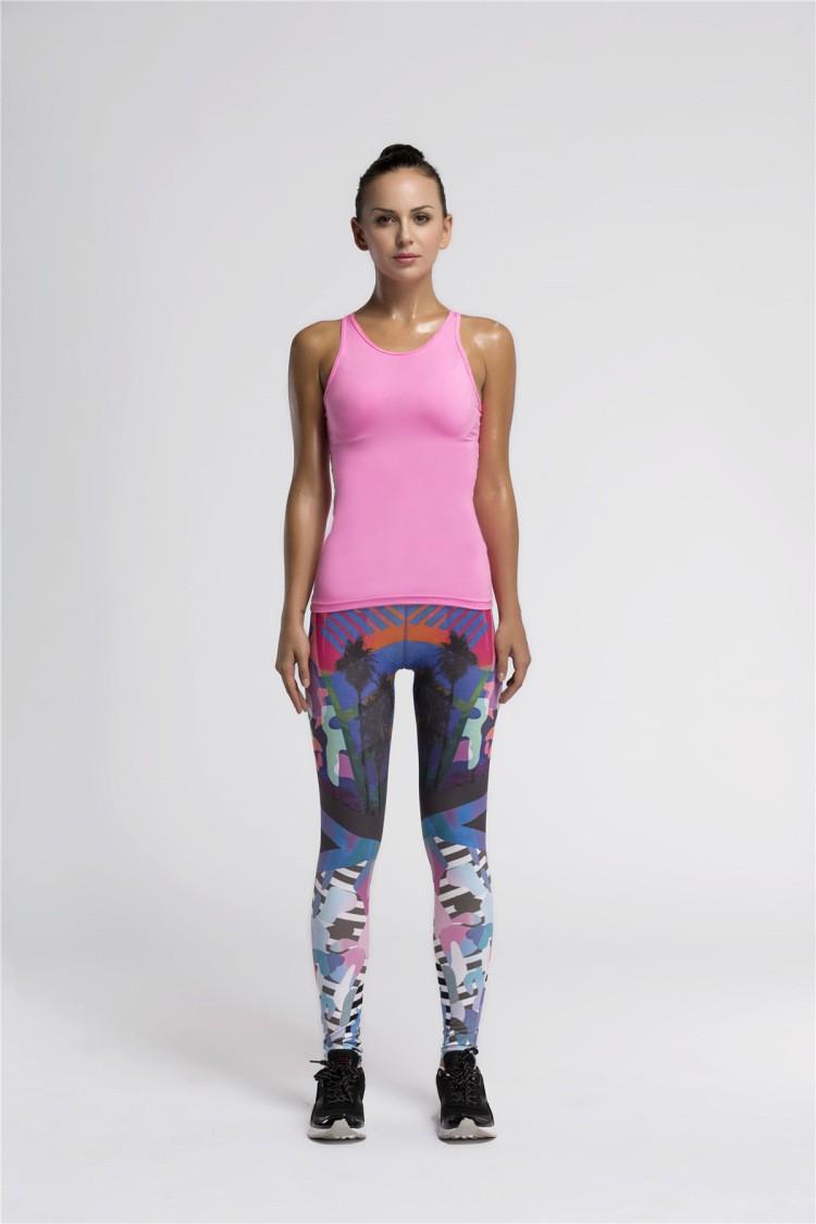 New Design Leggings Yoga Women Sublimation Printing Wholesale Fitness Leggings Yoga Women Pants ...