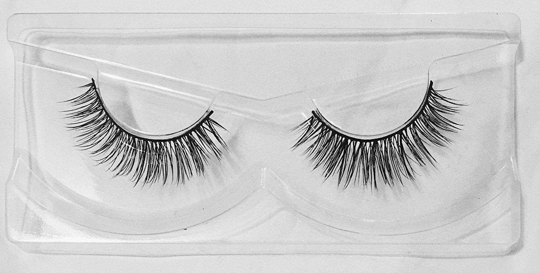 Flirty Voluminous False Lashes by Flutterfly Cosmetics | Onyx Style | 100% Top Quality Handmade False Eyelashes | Comfortable & Long Lasting