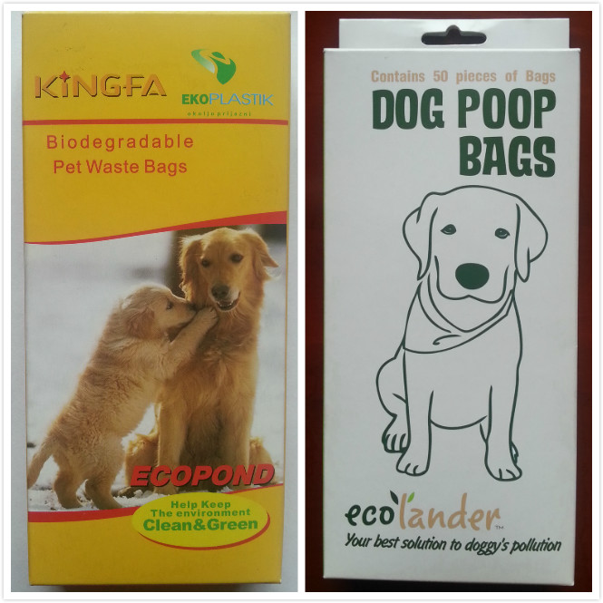 Custom Printed Disposable Eco Friendly Plastic Dog Waste Bags Biodegradable