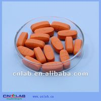 Vitamin B complex tablet for health care food