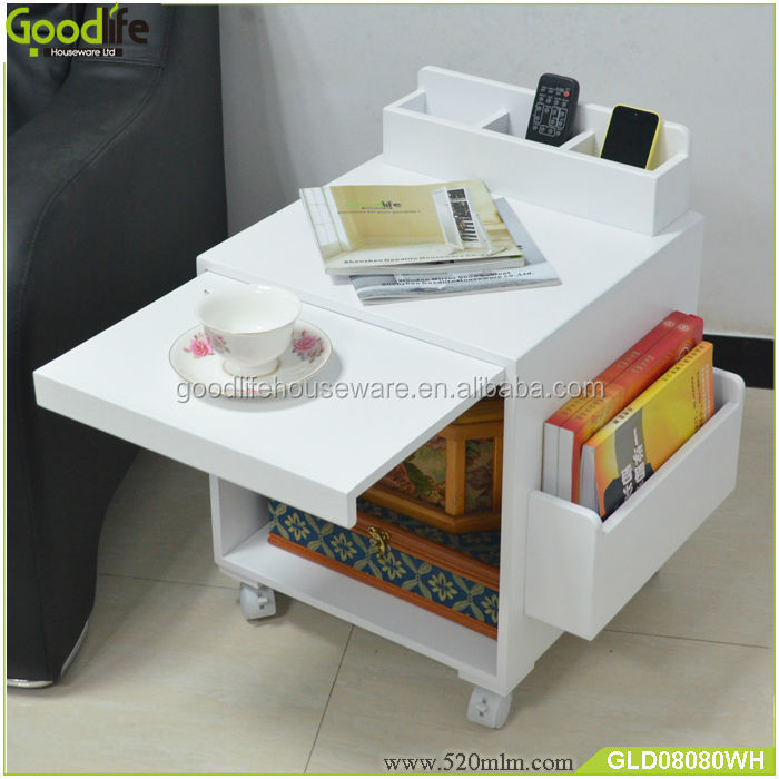 Goodlife Living Room Furniture Wooden Corner Table Designs