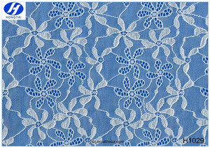 2016 Hongtai hot sales new style lace fabric market in China factory