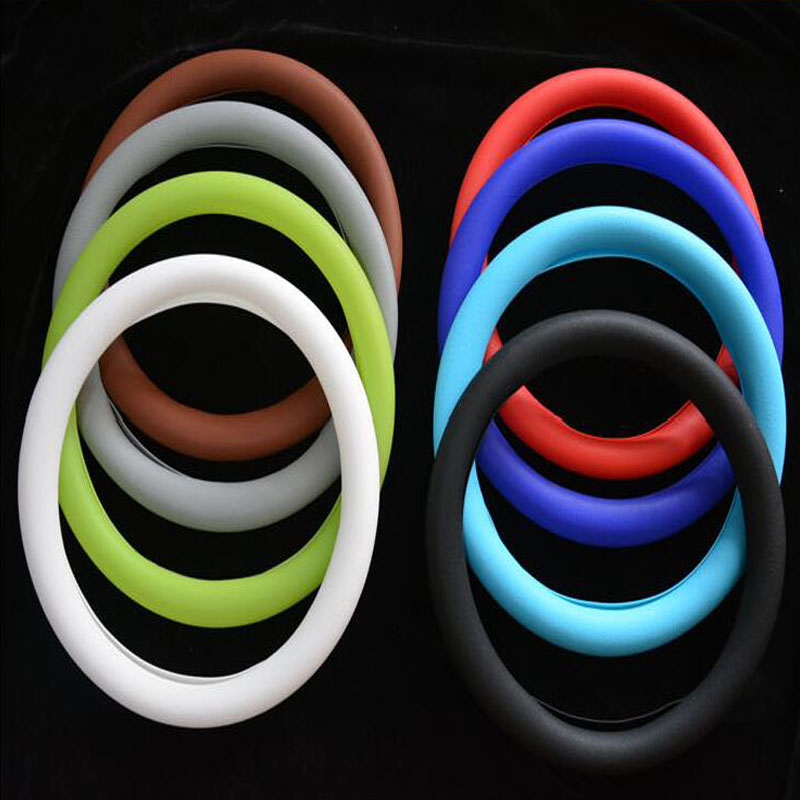 2018 fashion summer best selling car accessories decoration steering wheel cover protector silicone steering wheel cover