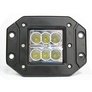 "Hot sale of 2014 products C r e flat mount 4"" 18w led work light for fo rd raptor"