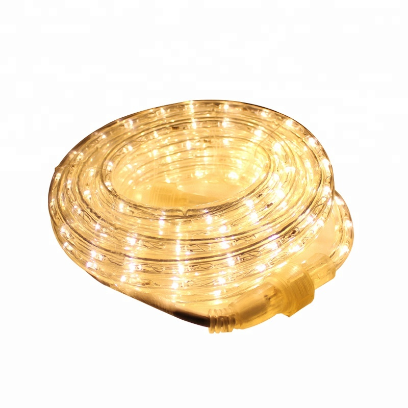 High quality plastic cheap led rope light for sale