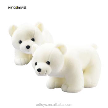 Wholesale Large Mini Christmas Stuffed Toys Giant Plush Polar Bear