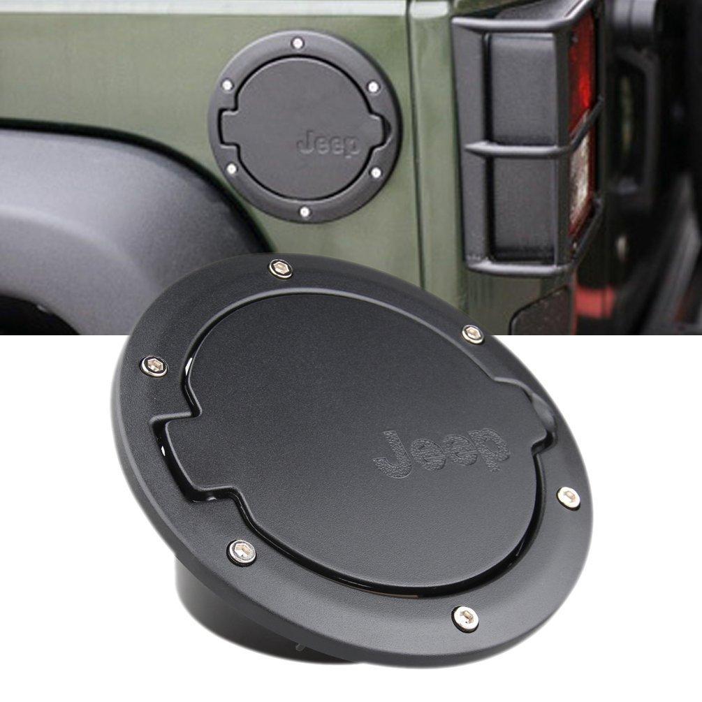 Jeep Wrangler 2 Door 2007-2016 Black Fuel Filler Door