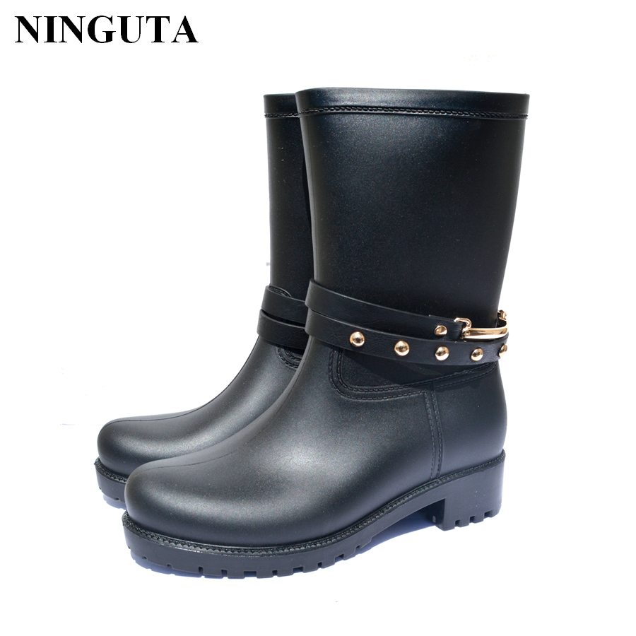 Long Rubber Boots Promotion-Shop for Promotional Long ...