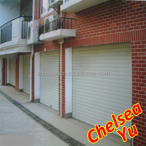 steel slat sliding door/garage door roller door/slat folding roller door supplier from China