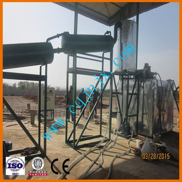 chongqing JNC Black engine oil regeneration equipment/used oil recovering diesel oil plant/oil filtering