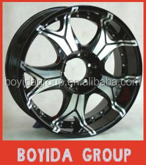 20*8.5 5*150 pcd car alloy wheels