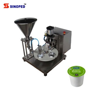 China High Quality Capsule Coffee Filling Sealing Making Machine For Nespresso K Cup Filler