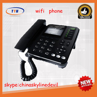 New products 4 line wifi voip cordless phone with rj11 and rj45
