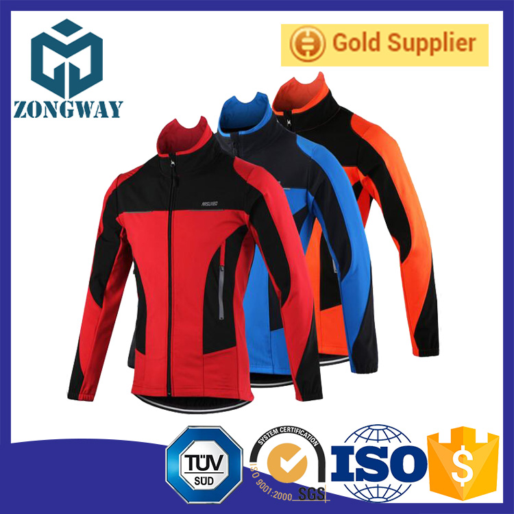 Cycling Wear Winter Fleece Thermal Warm Bicycle Jersey Windproof Rainproof Riding Sportswear