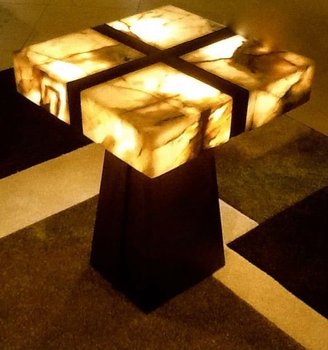 Custom Onyx End Table Buy Lighted Modern Onyx End Table Product on
