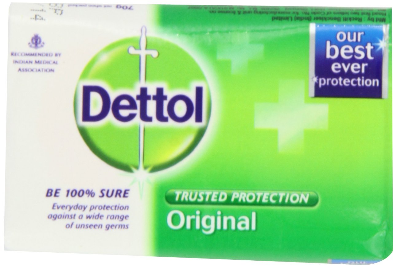 Buy Dettol Soap Original 70 Gram Bars Pack Of 4 In Cheap Price Series Package 12