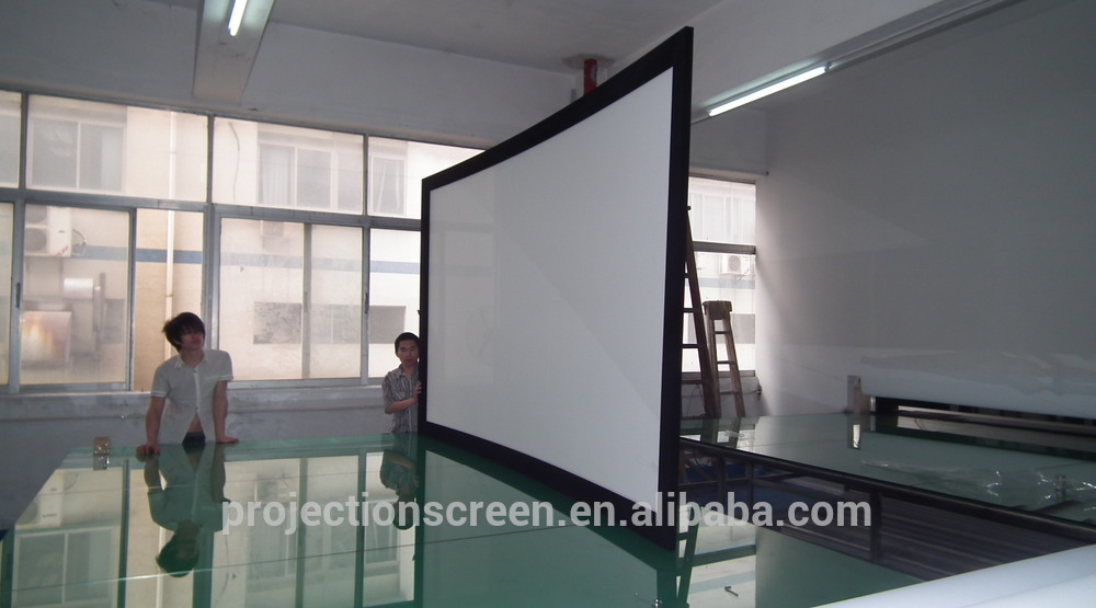 Pantalla de proyección marco de aluminio de 150 pulgadas para ...