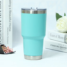 30Oz Double Wall Stainless Steel Mug, 20Oz 18/8 Vacuum Stainless Steel Tumbler, Sealed Insulated Stainless Steel Coffee Cup
