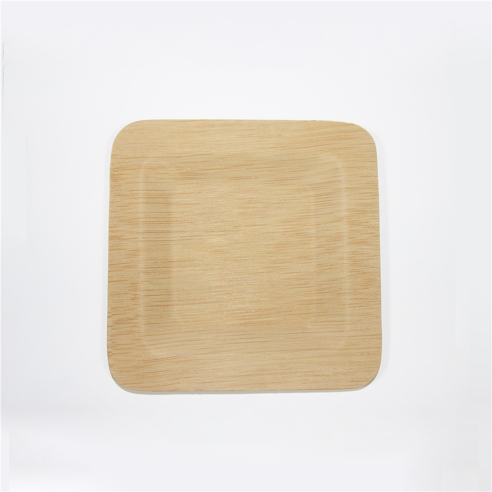 Palm leaf bamboo <strong>plates</strong> Disposable eco friendly