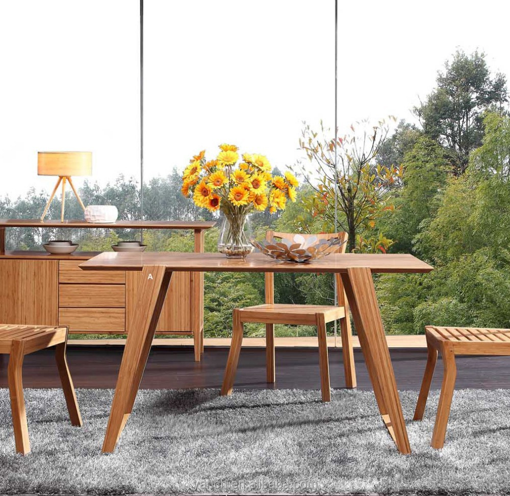 Bamboo Dining Table And Chairs, Bamboo Dining Table And Chairs Suppliers  And Manufacturers At Alibaba.com