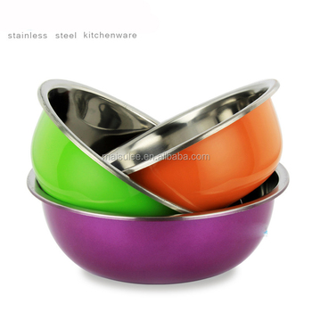94306e005c3 plastic basin stainless steel mixing bowl set silver plated tray and bowl  set with spoon