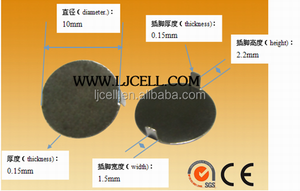 10mm battery conact for CR2032 battery, 10mm negative plate for CR series battery