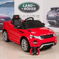 Range Rover Evoque 12V Battery Operated/Remote Controlled Ride On Car w/ Mat and Keychain,