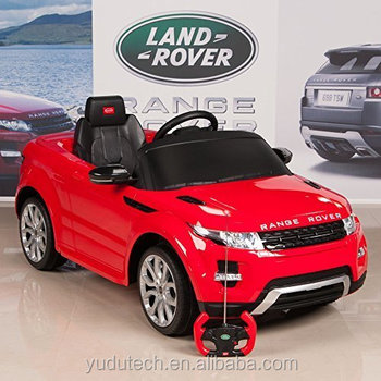 Range Rover Evoque 12v Battery Operated Remote Controlled Ride On Car W Mat And