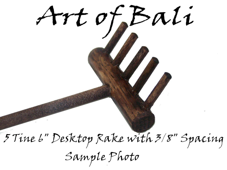 Art of Bali Zen Garden Rake 25 Pack Five Tine Desktop Rake - Zen Gardens