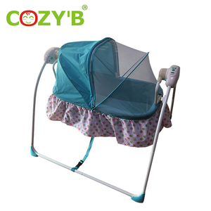 33eefe92a56 Electric Baby Swing Cribs Toys