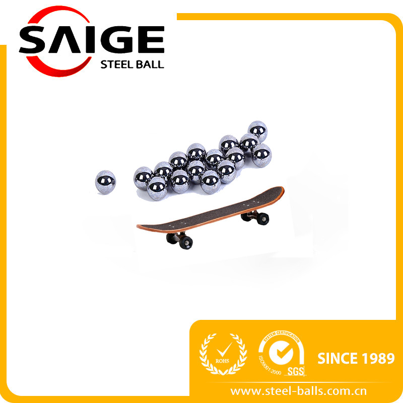 "SAIGE brand 6.35"" 1/4inch catapult slingshot carbon steel balls bearings ball for whole sale"