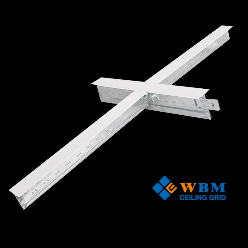 faux steel beams/decoration gypsum board steel frame/suspended ceiling metal grids