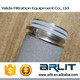 stainless steel /TI rod filter cartridge with resistance-temperature