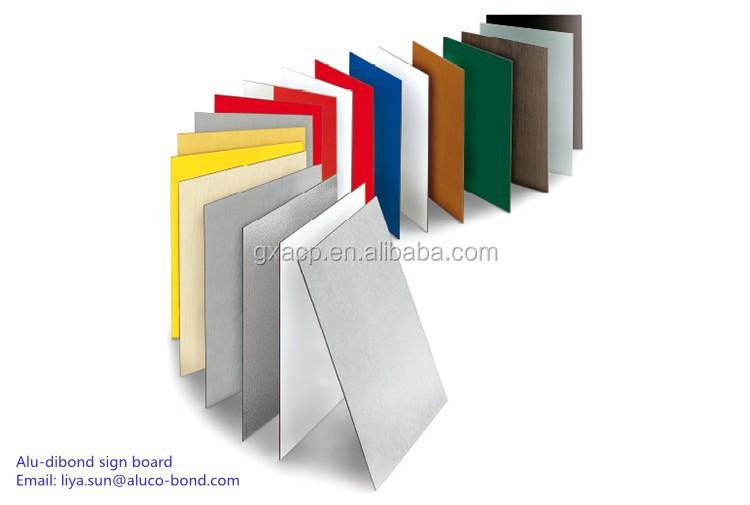 Colorful Aluminum Composite Panel Fascia Panels Signage Material ...