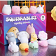 Mini Super Cute Mochi Animal Squishy Toys Soft Squishy Cats pack with 4 pcs in one seal bag