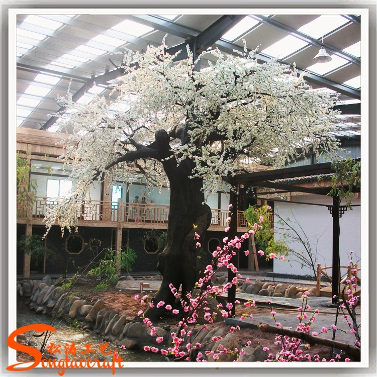 Large Artificial Trees Cherry Blossoms Wedding Decoration For Table