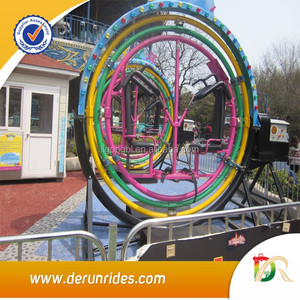 Attractive!!! amusement rides attraction park equipment human gyro
