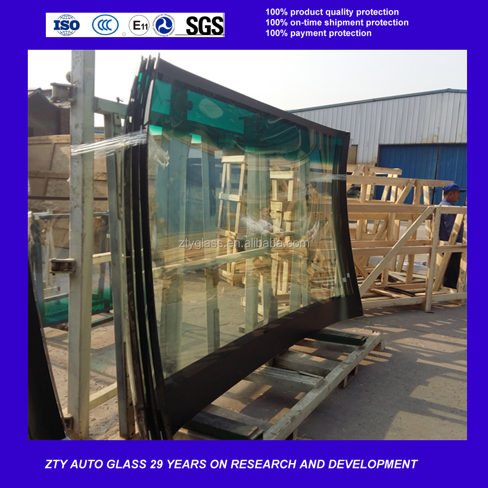 Laminated glass front windscreen bus window for kinglong