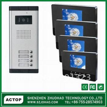 2-12 Multi Apartment Building Intercom System,Video Door Phone ...