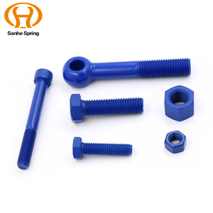 Hot Sale Blue Screw All Kinds of Customized Color Screw
